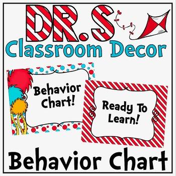 Behavior Clip Chart in a Dr S Decor Theme