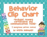 Behavior Clip Chart w/ Reward Certificates and Communication Forms