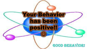 Behavior Clip Chart (w/Science Puns)