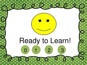 Behavior Clip Chart with Class Dojo Points