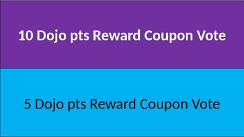 Behavior Clip Chart with Dojo Point Values & Rewards-Consequences