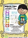 Behavior Clip Chart and Monthly Calendars for the Entire Y
