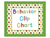 Behavior Clip Chart - Apple Theme