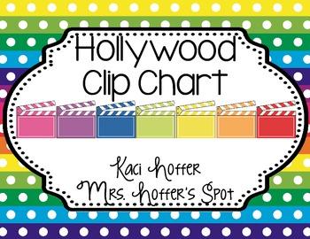 Behavior Clip Charts {Hollywood}