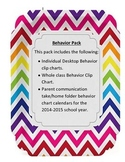 Behavior Clip Charts - Individual and Whole Class