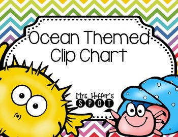 Behavior Clip Charts {Ocean}