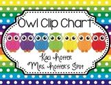 Behavior Clip Charts {Owl}