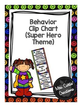 Behavior Clip Chat (Superhero Theme)