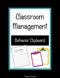 Behavior Clipboard NO PREP