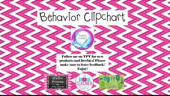 Ocean Behavior Clipchart