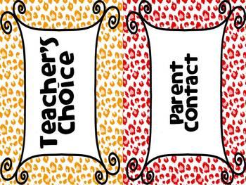Behavior Clipchart: Cheetah Edition!