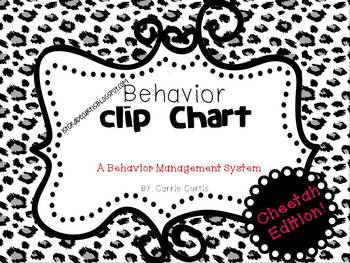 Behavior Clipchart: Cheetah Edition!