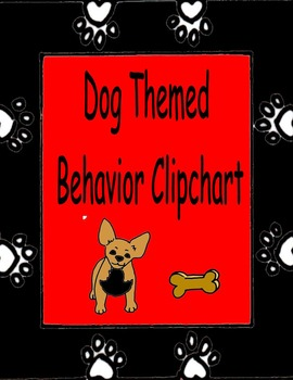 Behavior Clipchart (Dog Show Themed)