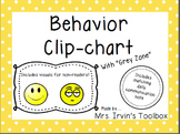 Behavior Clipchart: Visuals and Daily Note