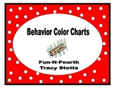 Behavior Clothes Pin Color Chart