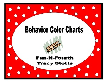 Behavior Color Chart