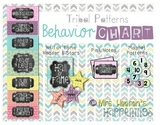 Behavior Color Chart {Tribal Patterns}