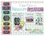 Behavior Color Chart {Tribal Patterns}