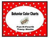 Behavior Color Chart