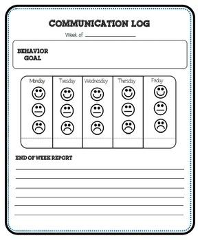 Behavior Communication Log