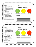 Behavior/ Conduct Sheet