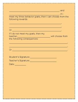 Behavior Contract (EDITABLE)