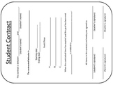Behavior Contract Forms