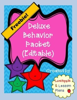 Behavior Contract Freebie