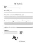 Behavior Contract - Owls