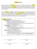 Behavior Contract Packet