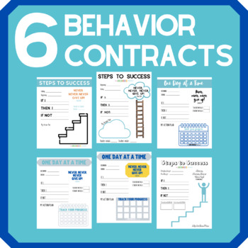 Behavior Contract: Steps to Success