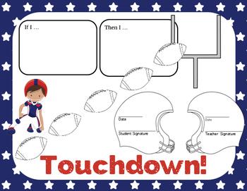 Behavior Contract: football theme