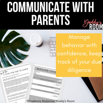 Behavior Contract for 6-12: Classroom Management for Secondary School Teachers
