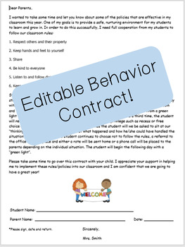Behavior Contract or Expectation Contract