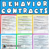 Behavior Contracts Set: Editable Pages to Reinforce & Improve Behavior