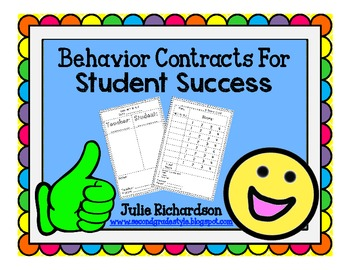 Behavior Contracts For Student Success