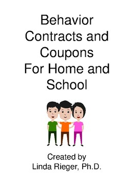Behavior Contracts for School and Home