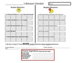 Behavior Contracts for Special Education