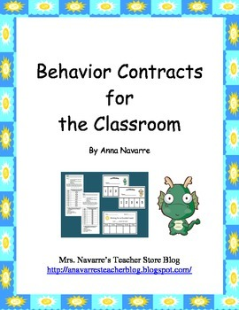Behavior Contracts for the Classroom