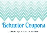 Behavior Coupons