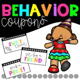 Behavior Reward Coupons FREEBIE!