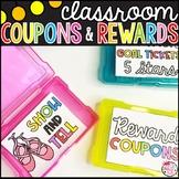 Classroom Reward Coupons & Goal Tracking