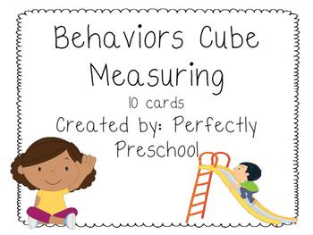 Behavior Cube Measuring