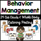 Behavior Visual  Cue Cards {24 for lanyard} & Whole Body Listening Posters