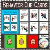 Behavior Cue Cards PECS Autism