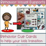 Behavior Cue Cards | Transition Visuals