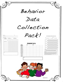Behavior Data Collection Pack