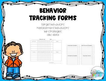 Behavior Data Forms