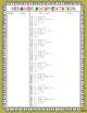 Behavior Documentation Record Sheet