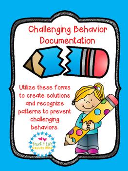 Behavior Document/ Individualized Behavior